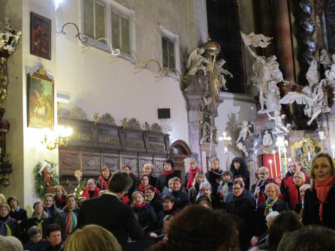 VÁNOČNÍ KONCERT 26. 12. 2015 v Chrámu Nanebevzetí Panny Marie ve Staré Boleslavi