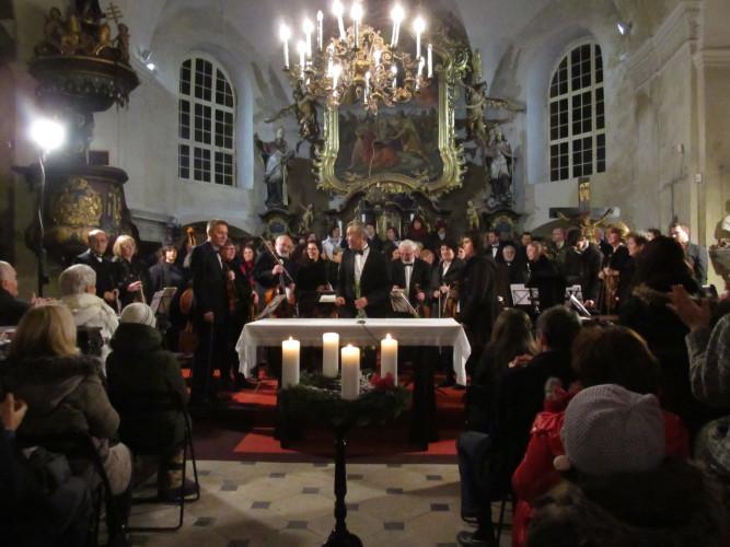 PŘEDVÁNOČNÍ KONCERT 22. 12. 2015 v kostele Obrácení Sv. Pavla v Brandýse nad Labem