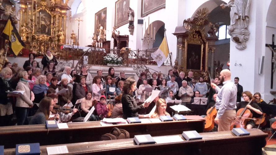 Pozvánka na koncert na Audienci u císaře Karla I.