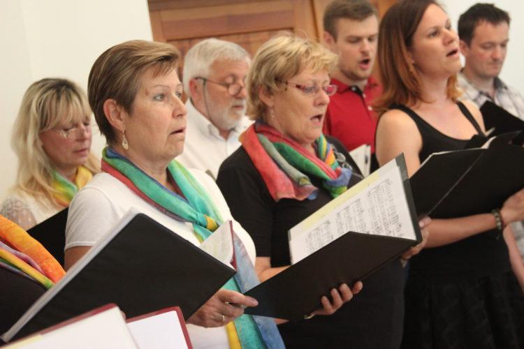 Zpívání v Toušeni - červen 2019